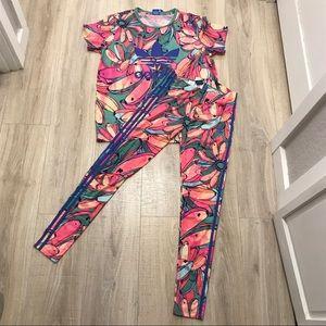 cc1b98a7c3c adidas Pants | Bananas Tshirt Leggings Outfit Set | Poshmark